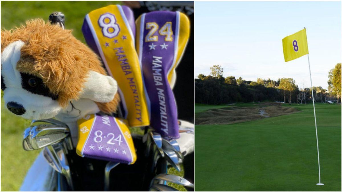 El tributo a Kobe Bryant en el Open de Los Angeles: de los palos de McIlroy al 'triple' de Tiger Woods en el hoyo 8 'Mamba'