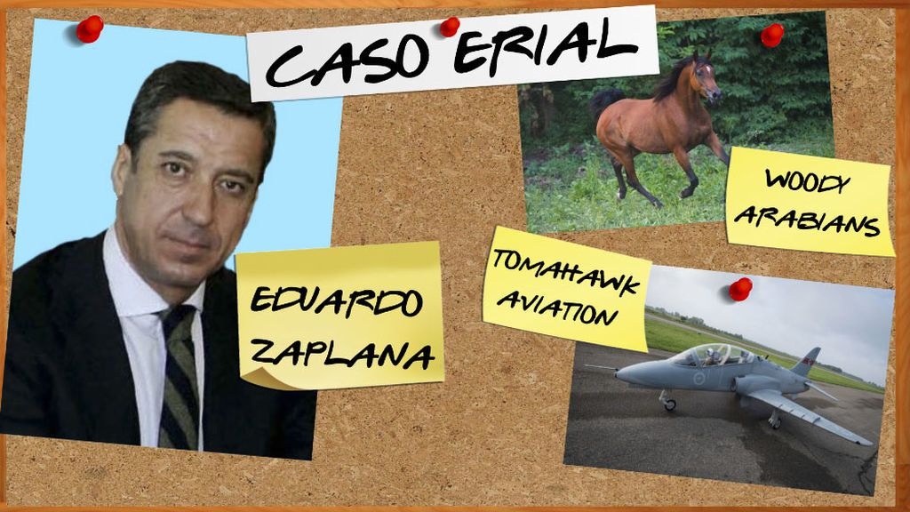 Zaplana pagaba desde Suiza caballos árabes y aviones de juguete de 18.300 euros