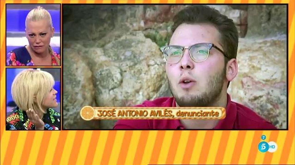 José Antonio en 'Sálvame'