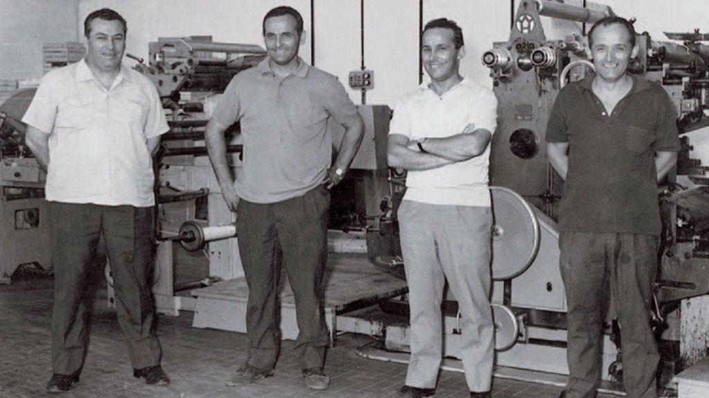 Parte de los Panini que fundaron la compañía.