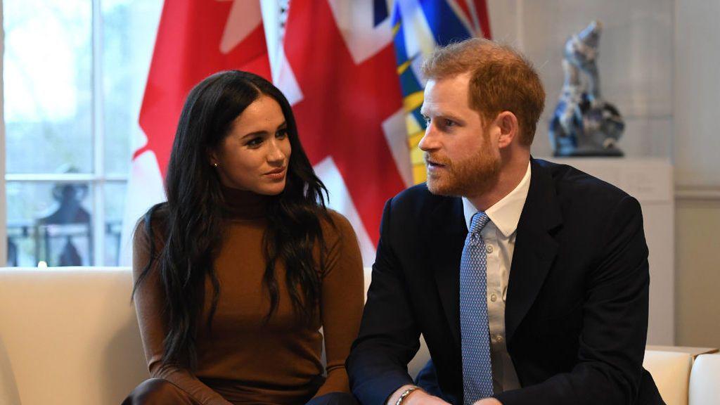 Harry y Meghan Markle comparten un vídeo inédito donde dejaban caer su intención de abandonar la Corona Británica