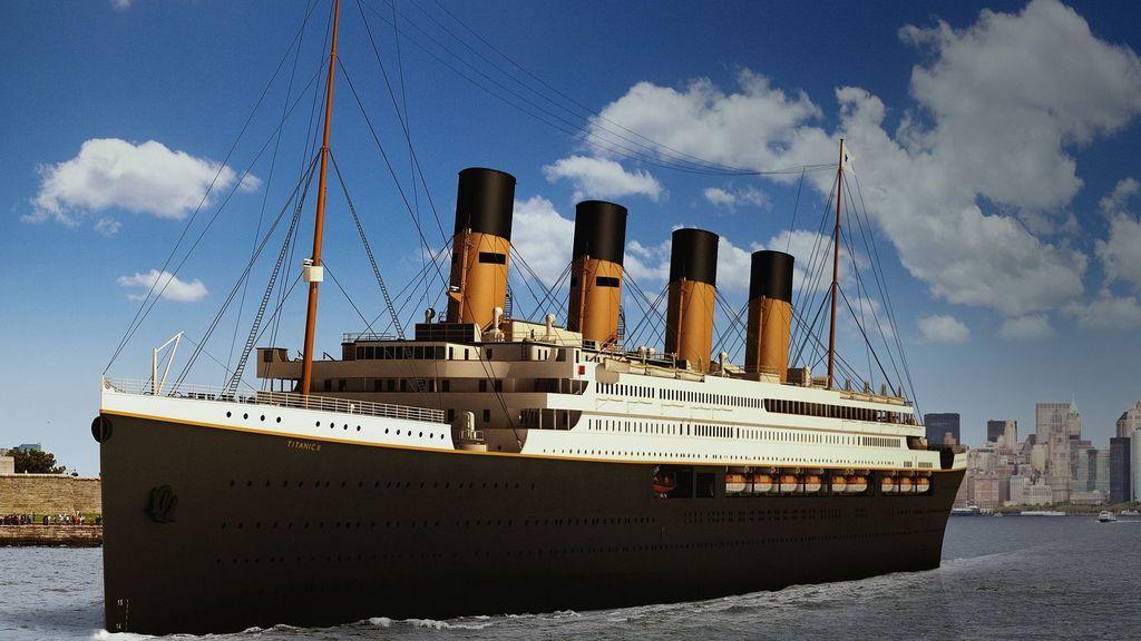 El Titanic volverá a surcar las aguas para unir Southampton con Nueva York en 2022