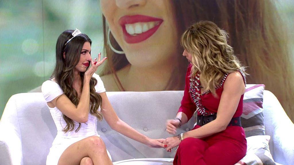 """Andrea se rompe recordando su historia con Ismael y Emma la consuela: """"Pensé que no tenías corazón"""""""