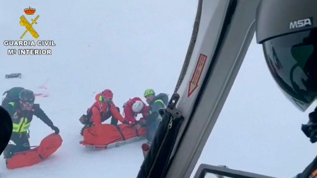 Dos montañeros mueren tras precipitarse en los picos Tesorero (Asturias) y Mampodre (León)