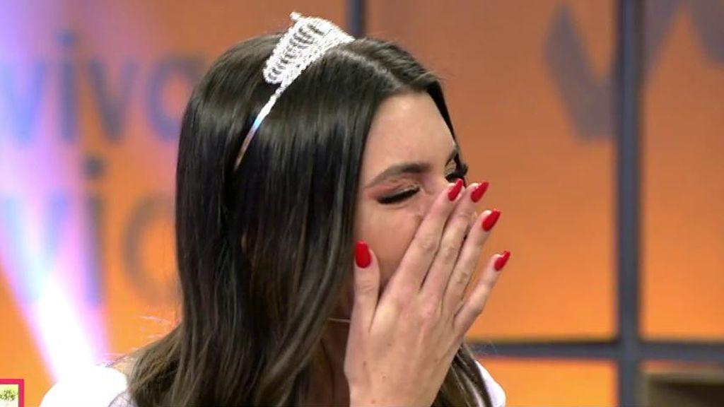 Andrea descubre en directo que Óscar le ha sido infiel