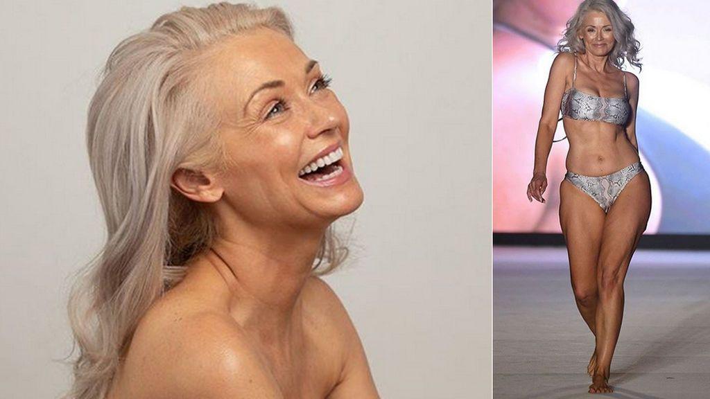 Kathy Jacobs, la modelo de 56 años que derriba las barreras de la edad