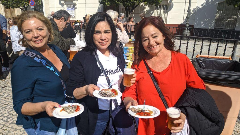 Ostionada en el Carnaval de Cádiz