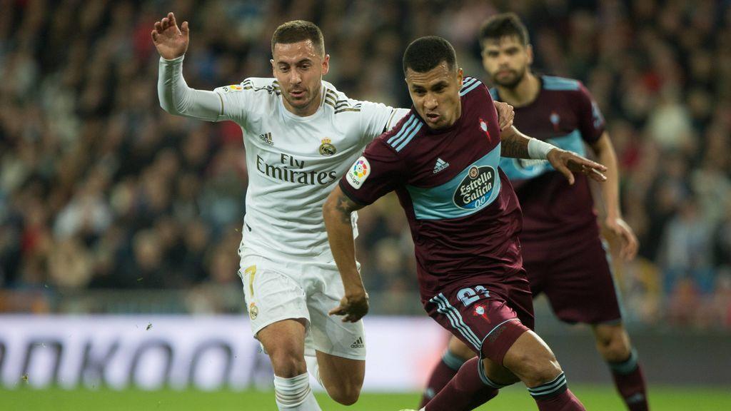 El Real Madrid remonta ante el Celta para seguir siendo líder en solitario (2-1)
