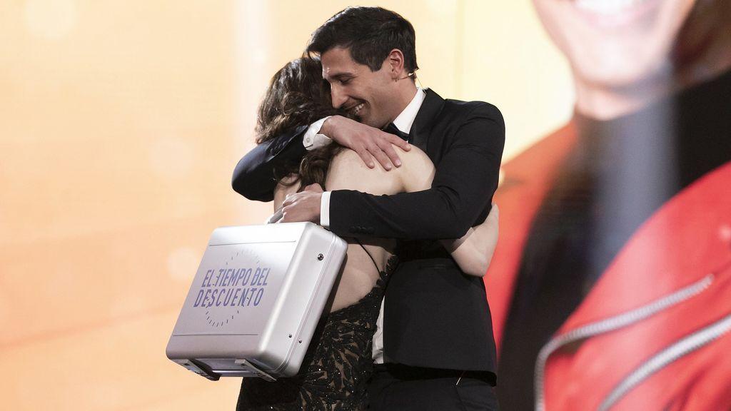 La victoria de Gianmarco en 'El tiempo del descuento' bate récord de la edición y supera en más de 10 puntos a Antena 3