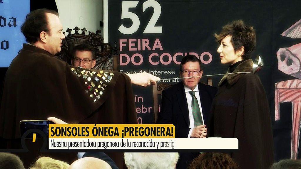 Sonsoles Ónega, pregonera de la reconocida 'Feira do cocido de Lalín':