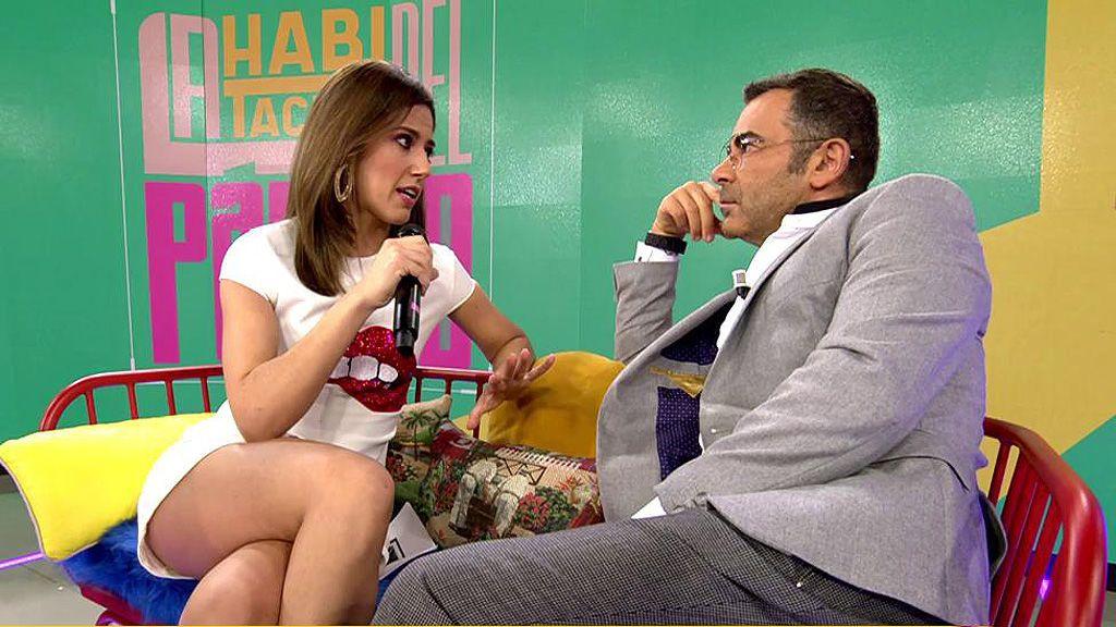 Jorge Javier Vázquez se cuela en el plató de 'La habitación del pánico', nuevo programa de Nuria Marín