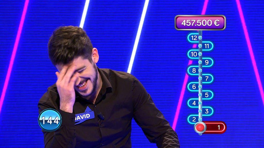 """David Leo, avergonzado de su fallo en la primera pregunta del programa: """"Madre mía"""""""