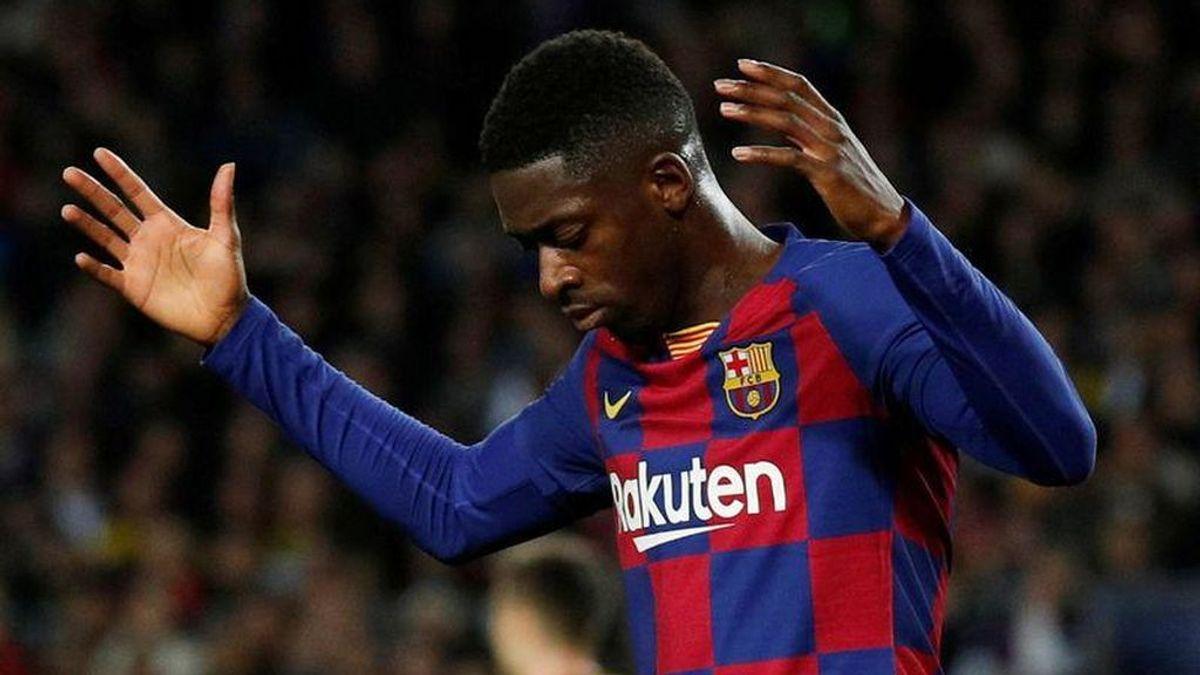 El Barcelona ya tiene el 'ok' de la Liga para poder fichar un sustituto de Dembelé