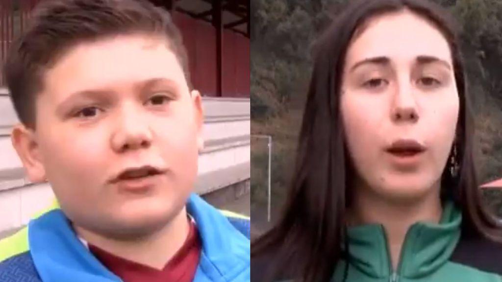 """Un portero de 11 años se enfrenta a unos padres que no paraban de protestar a una árbitra: """"Dejadla tranquila"""""""