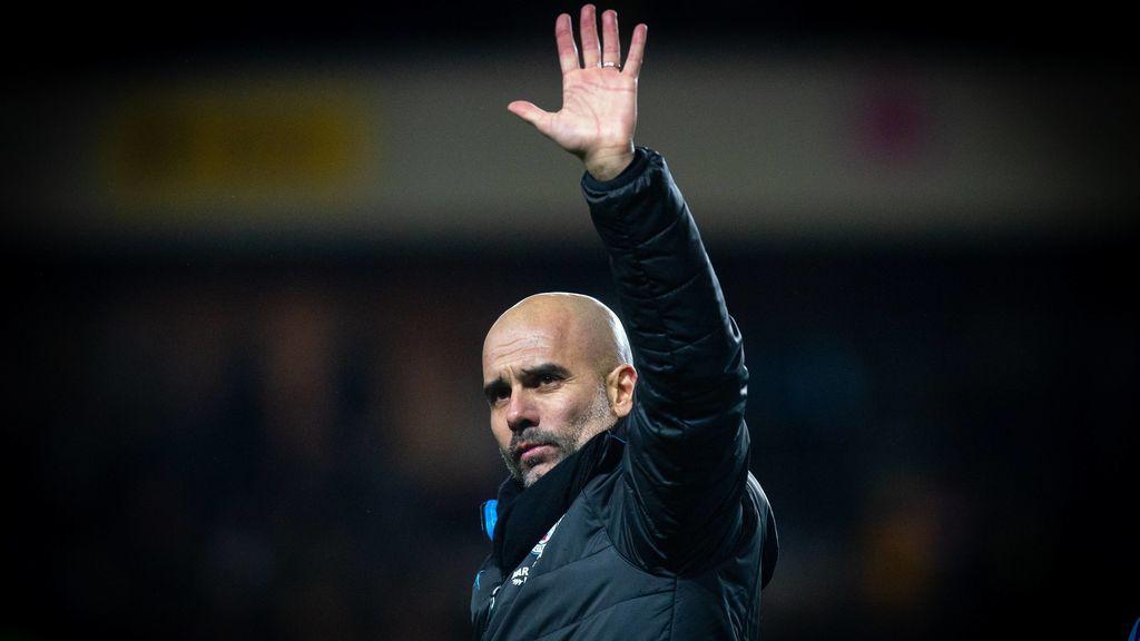 Pep Guardiola desvelará este martes su futuro en el banquillo del Manchester City, según 'The Times'
