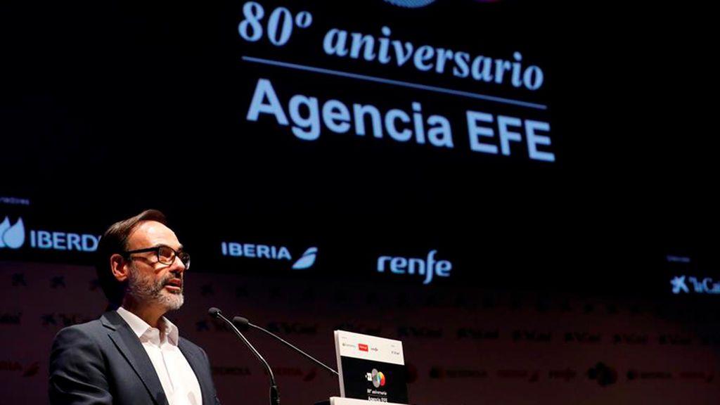 Sánchez cesa a Fernando Garea como presidente de la Agencia EFE