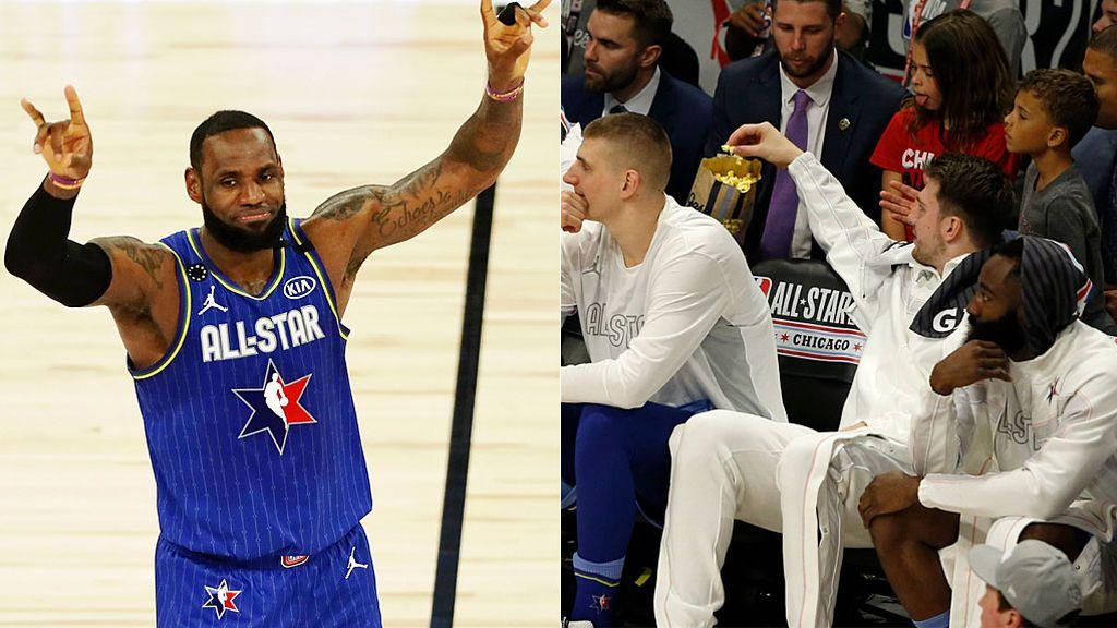 """El homenaje de LeBron James, Doncic y toda la NBA a Kobe Bryant en el All Star: """"Va por ti"""""""