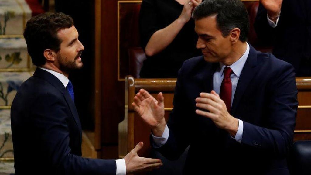 Casado ofrece negociar los Presupuestos a cambio de que Sánchez no aplique su programa electoral