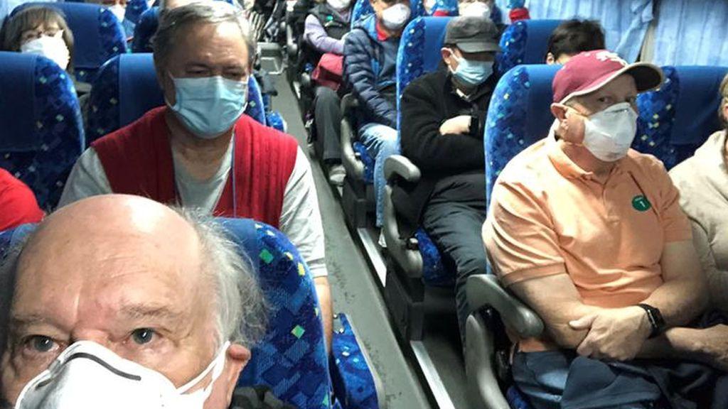 Coronavirus a bordo de un crucero en Japón:  14 estadounidenses son evacuados con el  COVID-19