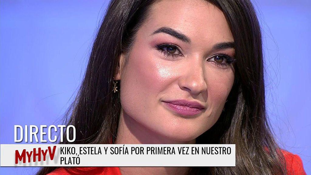 Estela, emocionada, manda un mensaje a Diego Matamoros