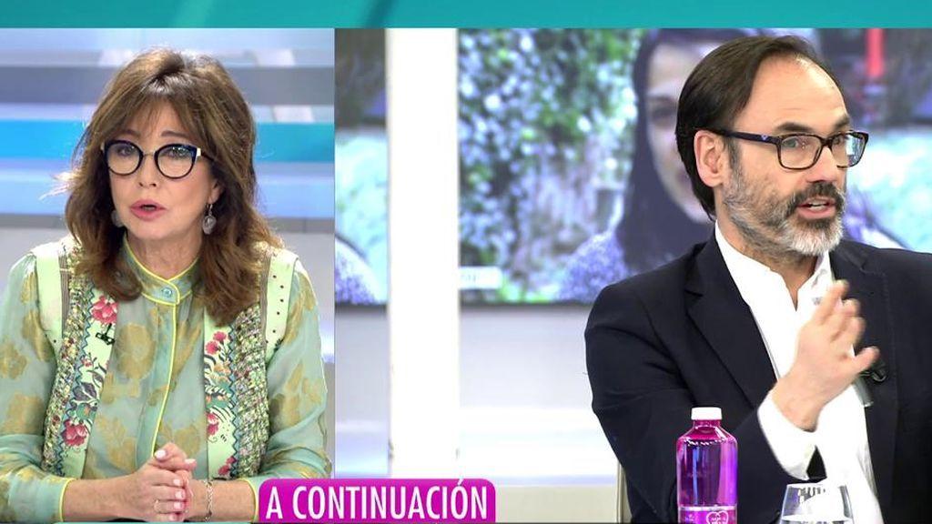 """Ana Rosa, sobre el cese de Garea en la agencia EFE: """"Estoy esperando la opinión de Pablo Iglesias"""""""