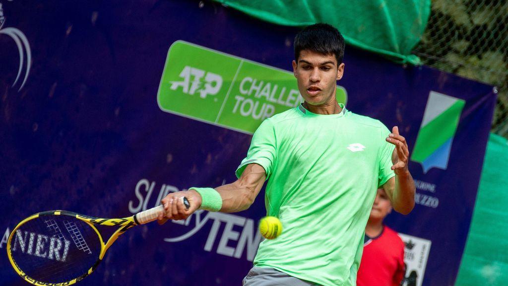 Carlos Alcaraz, de 16 años, consigue su primera victoria en la ATP ante Albert Ramos, el número 41 del mundo