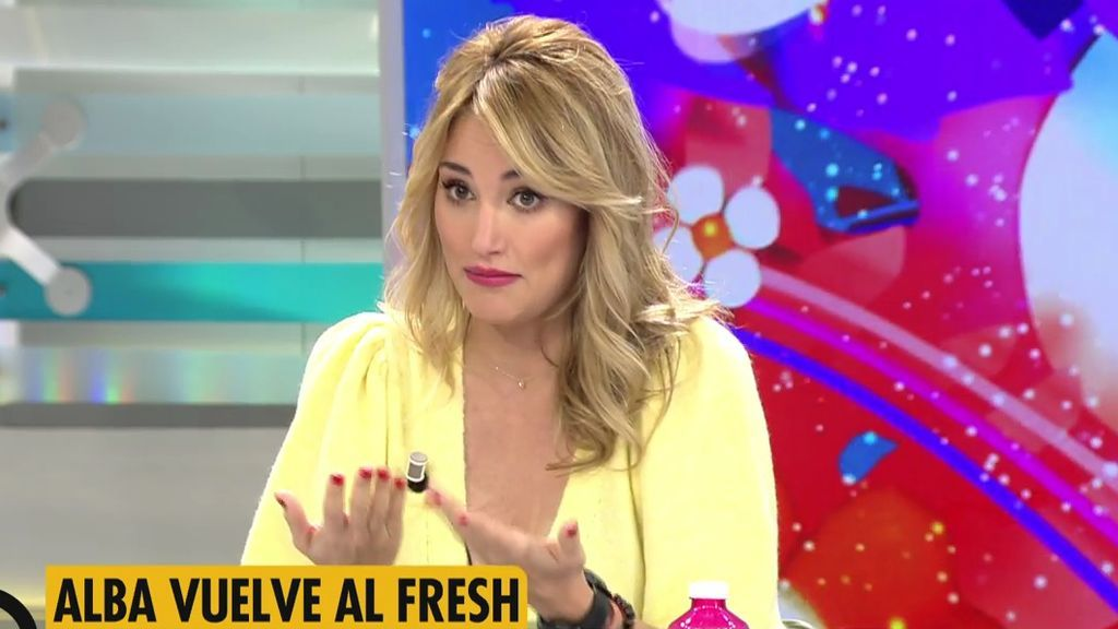 """Alba Carrillo vuelve a 'Ya es mediodía': """"Nunca quise decir nada que os ofendiera"""""""