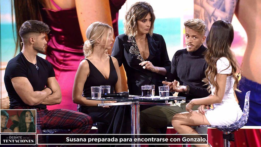 """Ismael revela que tuvo sexo con Andrea y Óscar se entera en el plató: """"A mí no me contaste eso"""""""