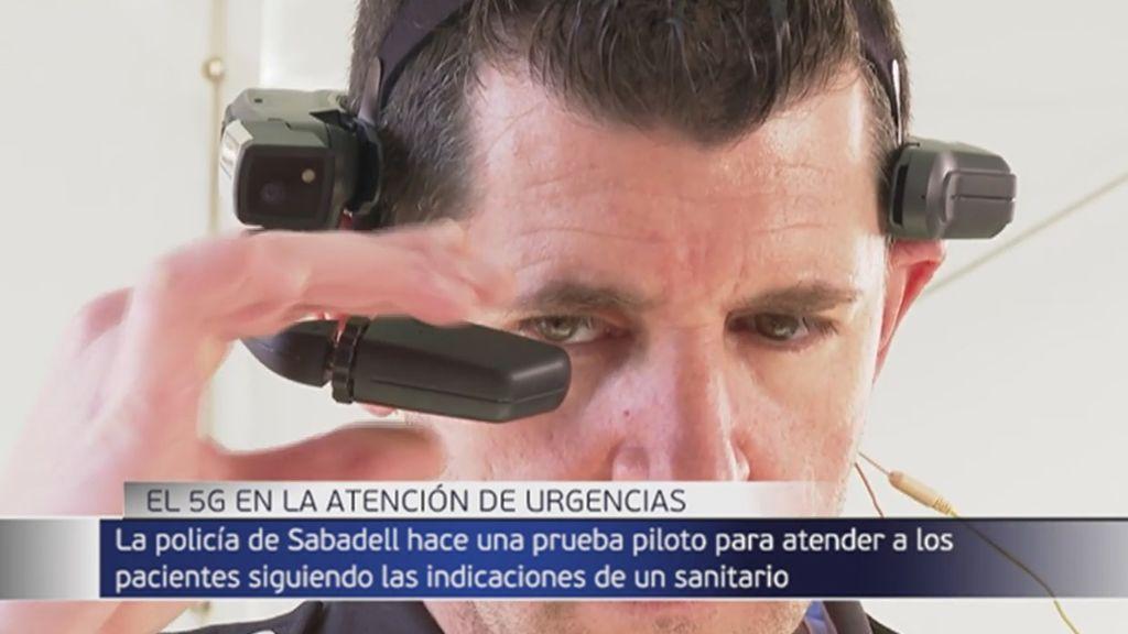 """Una prueba con tecnología 5G """"salva la vida"""" de un menor en un simulacro en Barcelona"""