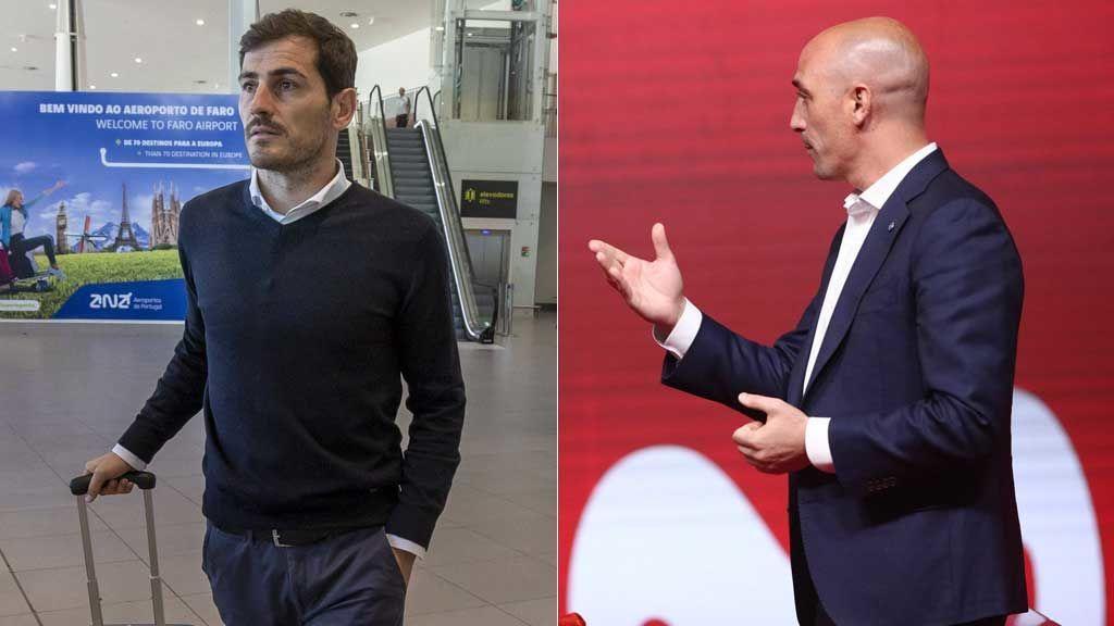 El WhatsApp de Casillas a Rubiales para anunciarle que se presenta a las elecciones