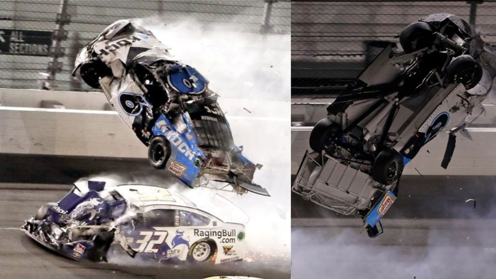 Ryan Newman, en estado grave tras un accidente en las 500 Millas de Daytona