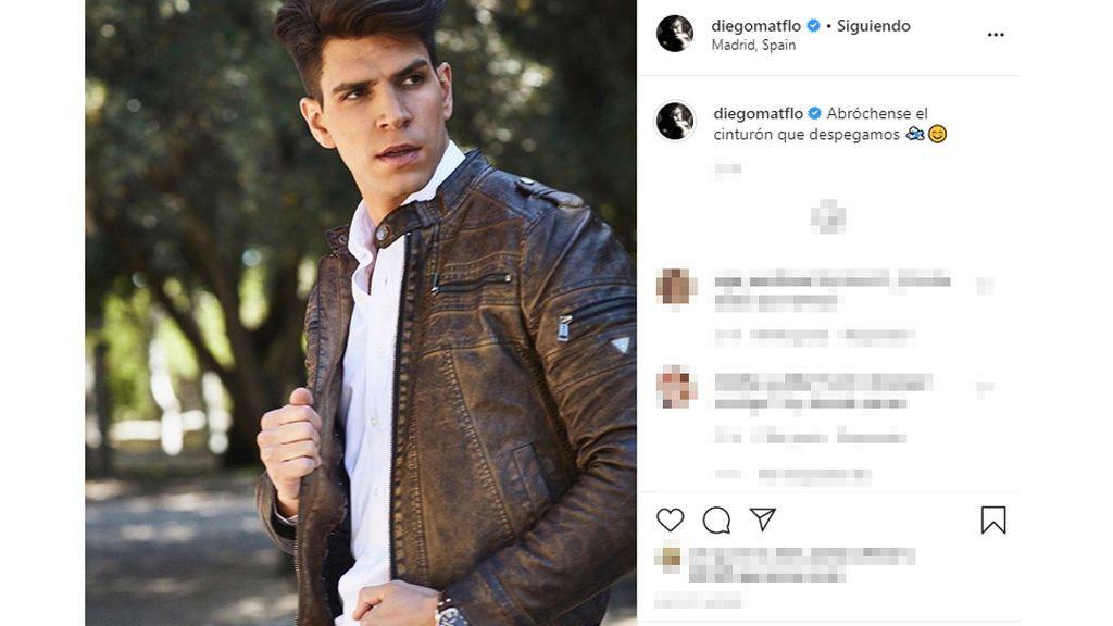 La foto de Diego Matamoros en Instagram