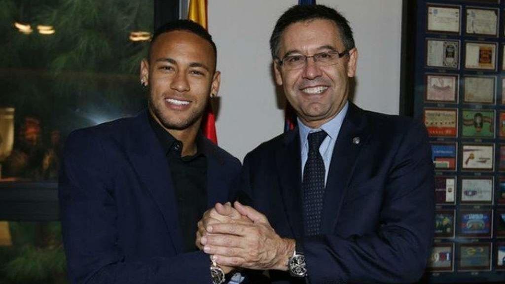 """El Santos reclama al Barça el pago de 4,5 millones de euros por """"incumplimiento"""" en el fichaje de Neymar"""