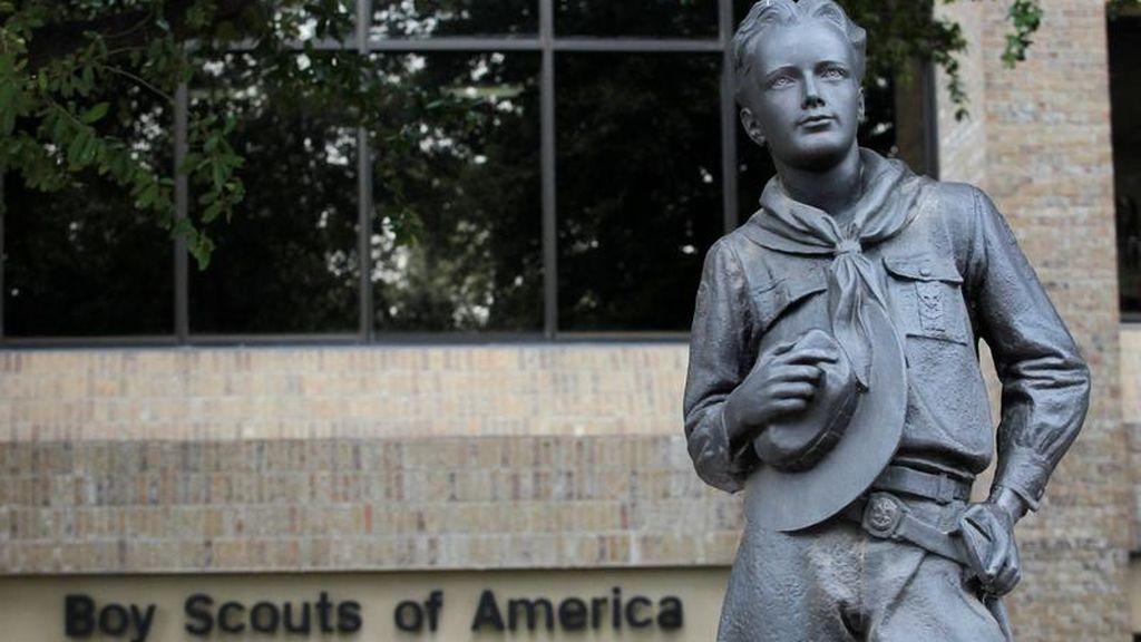 Boys Scouts en la sede de la organización de Irving, Texas.