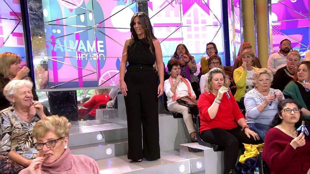 Anabel Pantoja vuelve a 'Sálvame' y recibe una sorpresa del público