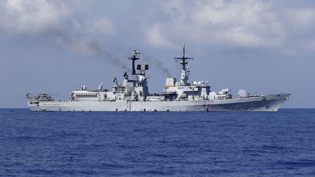 Europa muestra músculo militar en el Mediterráneo