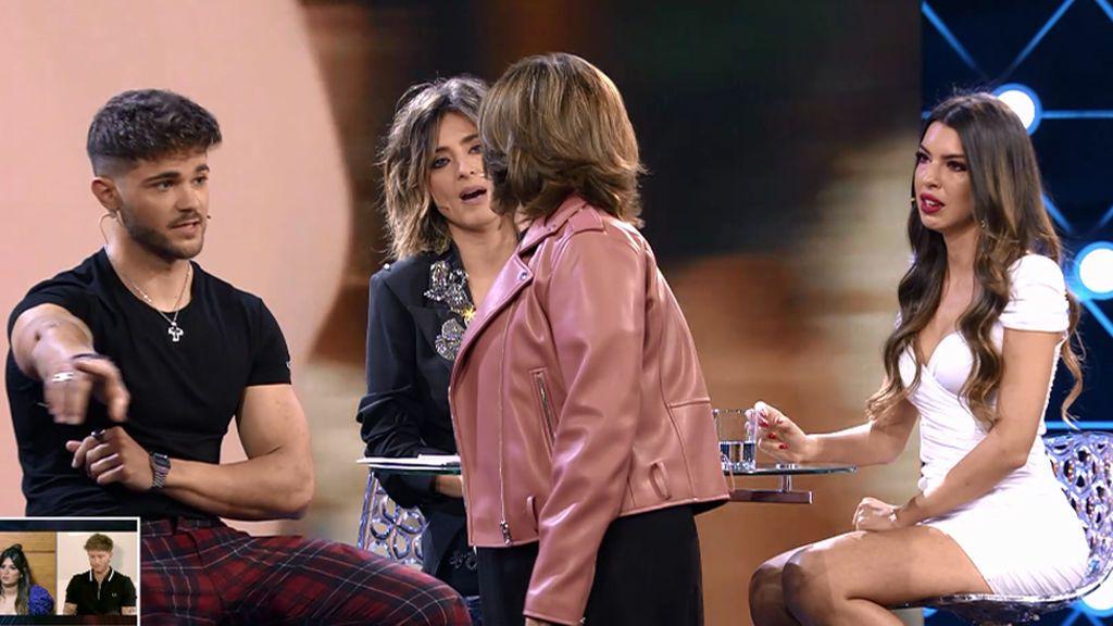 """La madre de Andrea se encara con Ismael en un tenso enfrentamiento en el plató: """"No puedo más con sus mentiras"""""""