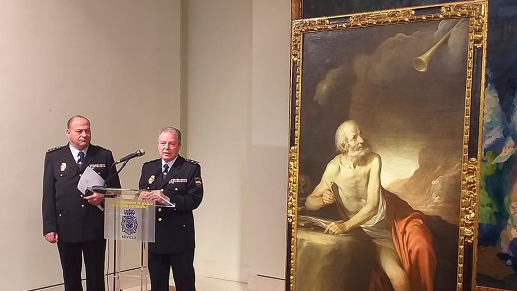 El misterio detrás del 'San Jerónimo' que la policía ha depositado en el Bellas Artes de Sevilla