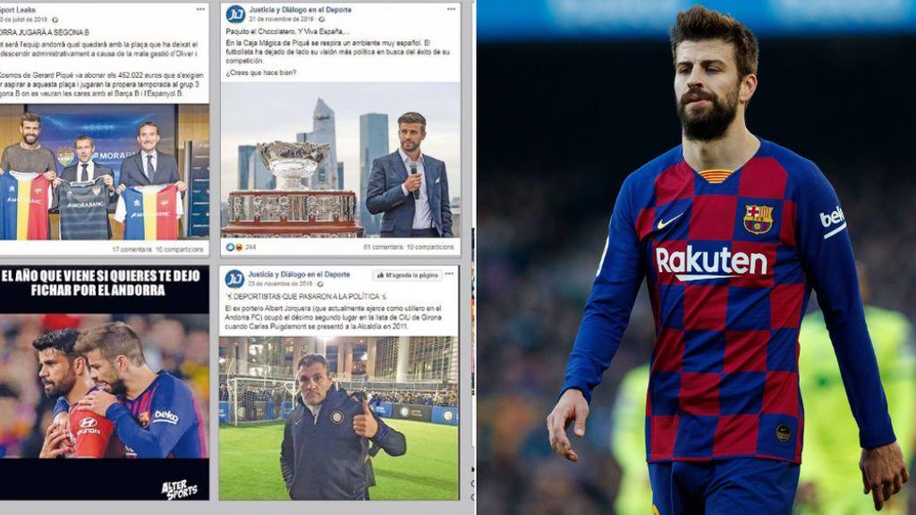 El paso a paso de la campaña de desprestigio contra Piqué organizada por la empresa de redes contratada por Bartomeu