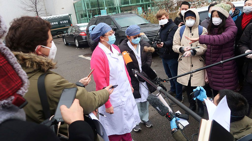 Coronavirus en China: tres reporteros, expulsados por criticar al gobierno