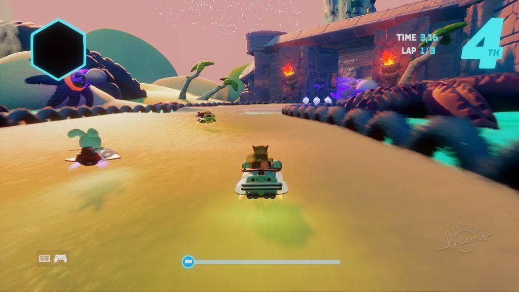 Ommy Kart - Starfish Island Track