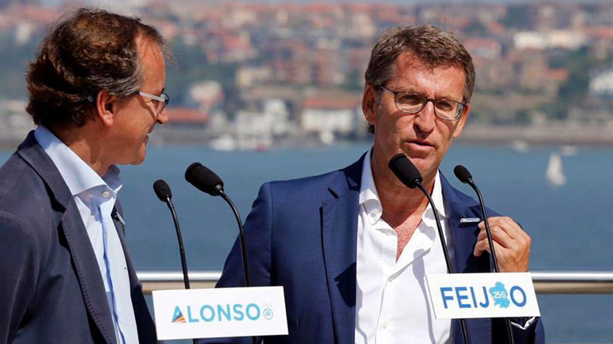 PP y Ciudadanos irán juntos en el País Vasco pero Feijóo veta la coalición en Galicia