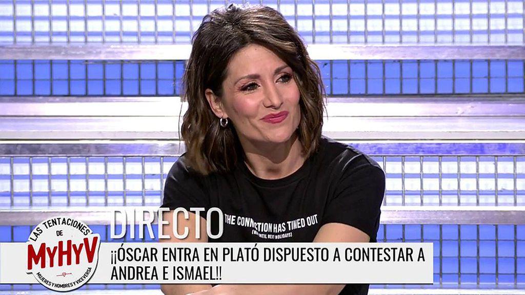 La romántica indirecta de Nagore a Sandra Barneda