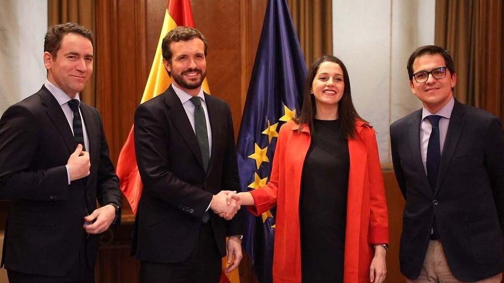 PP y Cs irán en coalición en las elecciones del País Vasco
