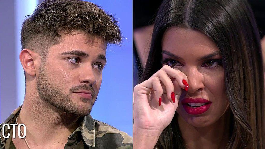 Andrea e Ismael dicen qué sienten el uno por el otro mirándose a los ojos