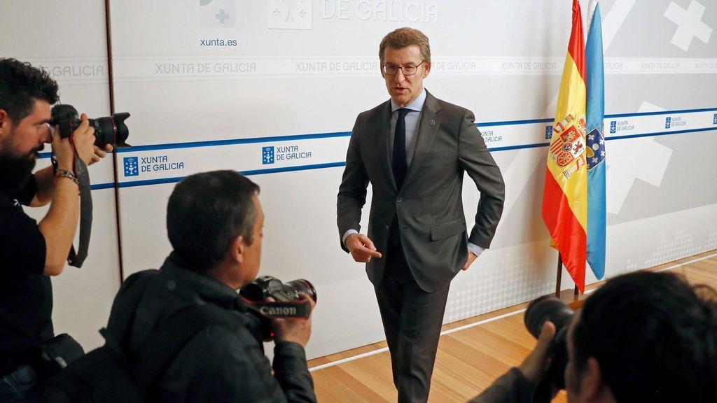Feijóo le deja claro a Arrimadas que no irá en coalición en Galicia