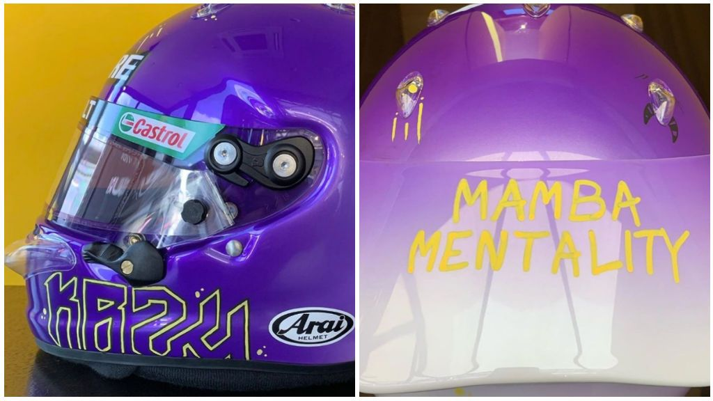 El homenaje de Daniel Ricciardo a Kobe Bryant: 'Mamba mentality' en la Fórmula 1