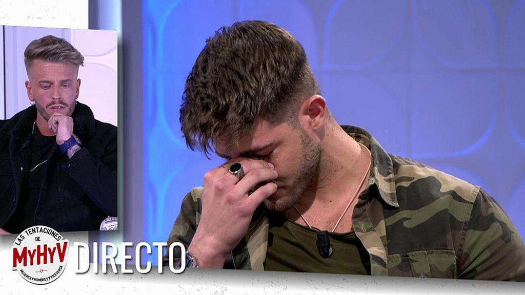 Ismael rompe a llorar en directo