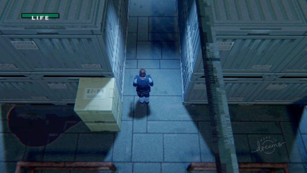 Metal Gear - Dock Area, Dreams PS4