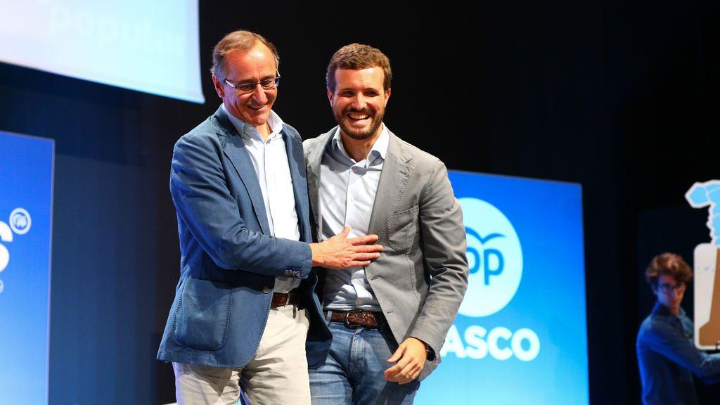 PP y Ciudadanos irán juntos a las elecciones del País Vasco con Alfonso Alonso de candidato